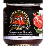 Daves Hot Pepper Jelly - pomegranate