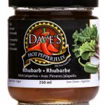 Daves Hot Pepper Jelly - rhubarb