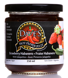 Welcome to Dave's Hot Pepper Jelly.